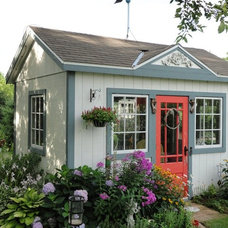 Traditional Garage And Shed by GMH Construction