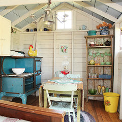eclectic garage and shed by Julie Ranee Photography