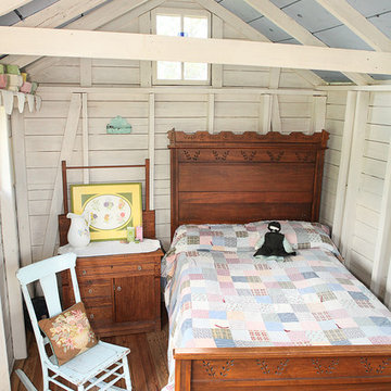 Shed Turned Guest Space