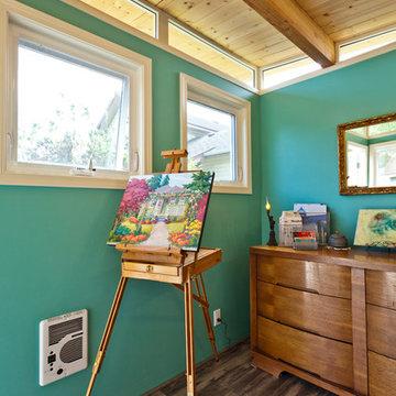 Shoreline, WA Modern-Shed Art Studio