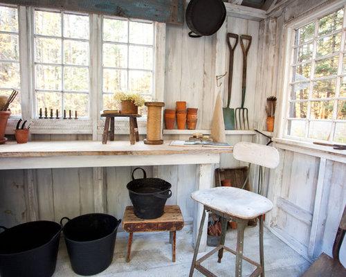 farmhouse garden shed idea in boston