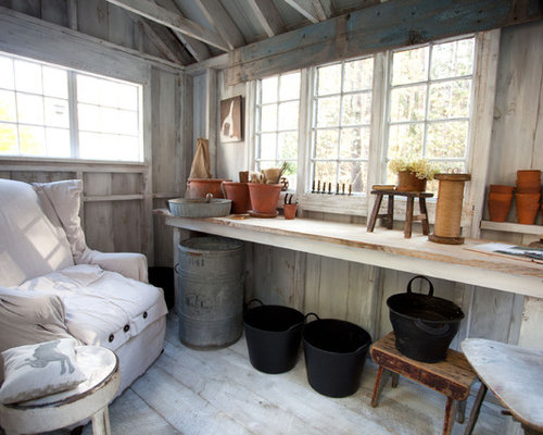 Best interior colors design ideas remodel pictures houzz for Garden shed interior designs