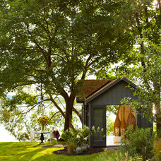 Beach Style Garage And Shed by Thom Filicia Inc.