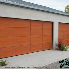 Modern Garage And Shed by Ziegler Doors Inc.