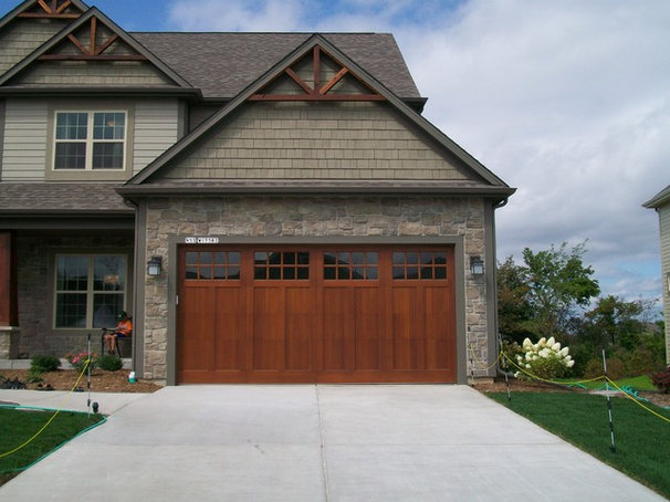 Craftsman Garage And Shed by Lifetime Door Co