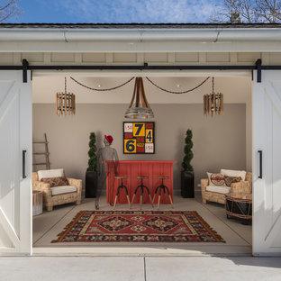 Inspiration pour un abri de jardin séparé rustique.