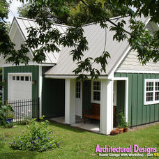 Traditional Garage And Shed by Architectural Designs
