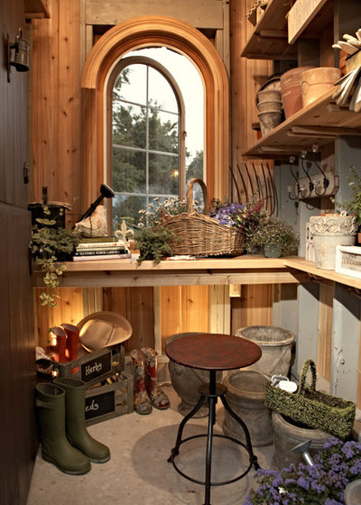 Traditional Shed by VanBrouck & Associates, Inc.