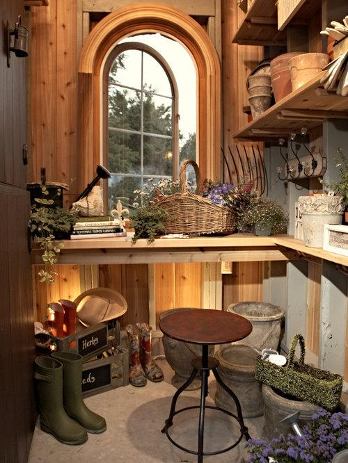 potting shed houzz