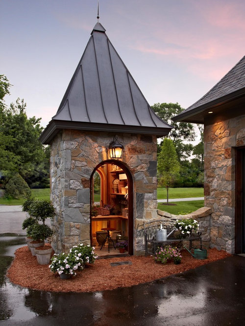 Stone Shed Houzz