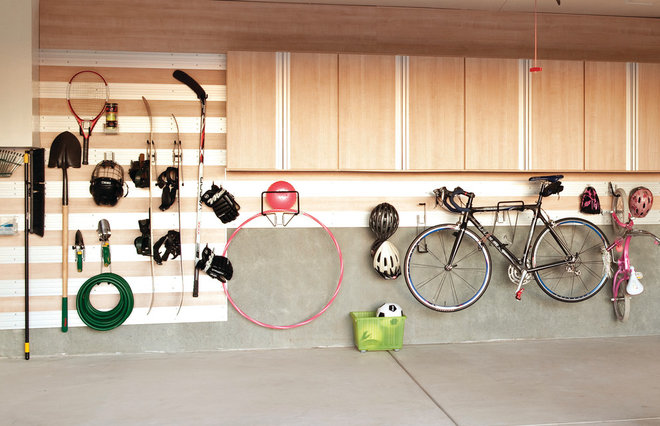 Contemporary Garage And Shed by California Closets New England
