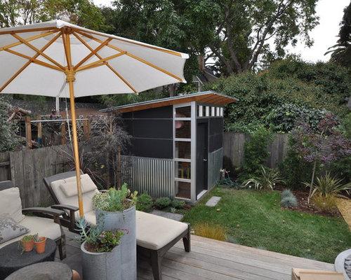 moderne garage und gartenhaus ideen design bilder houzz. Black Bedroom Furniture Sets. Home Design Ideas