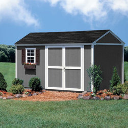 "Storage Sheds & Garage Buildings - The 10x12 Arlington features 120 square feet of storage space. Featuring 6 ft. tall sidewalls and a 8'9"" high peak, there will be plenty of room for long handled tools and equipment. The 12 ft. depth will give you plenty of floor space for riding mowers, lawn equipment and other outdoor items too. Finally, on the special features list is the robust 2 x 4 construction which will stand up to just about anything too! What would you use this shed for?"