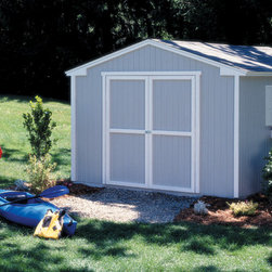Storage Sheds & Garage Buildings - The 10x12 Seneca offers 829 cubic feet of storage space and comes in at an affordable price. With the extra money you save, why not customize it with some shelves, workbench, windows, skylight, shutters and a flowerbox.