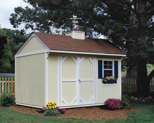 Budget garden shed and building design ideas renovations for Traditional garden buildings
