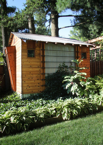 Craftsman Shed by Princeton Design Collaborative
