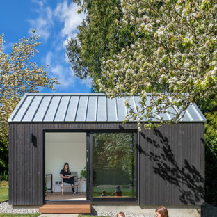 This is an example of a country shed and granny flat in Seattle.