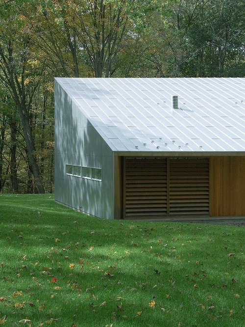Single slope roof houzz for Single pitch roof house plans