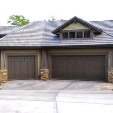 Traditional Garage And Shed by B.L. Rieke Custom Home Builders