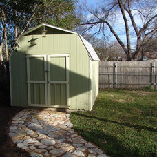 Traditional Garage And Shed by Fulford Construction and Design