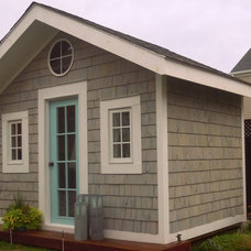 Traditional Garage And Shed by Chris  Kauffman
