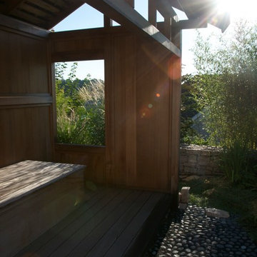The Inward Garden-- an asian-inspired garden