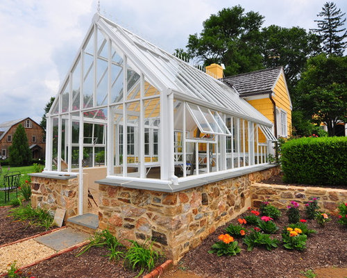Attached greenhouse home design ideas pictures remodel for House plans with greenhouse attached
