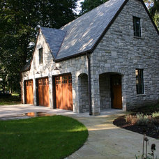 Traditional Garage And Shed by Valle Homes