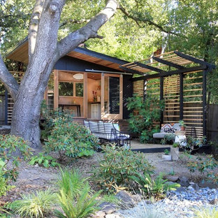 Design ideas for a small modern detached studio in San Francisco.