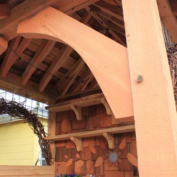 Timber Frame Potting Studio