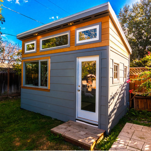 30 All-Time Favorite Contemporary Shed Ideas | Houzz