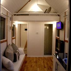 Contemporary Garage And Shed by Tiny House UK