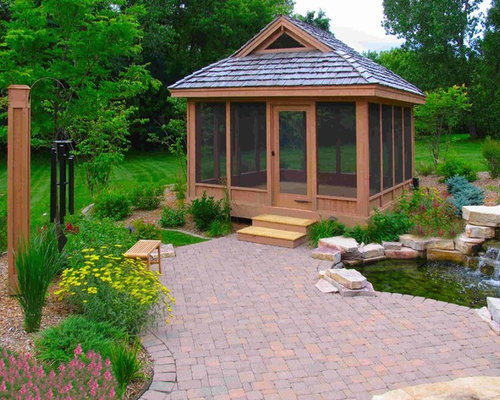Canadian gazebo plans home design ideas pictures remodel for Detached screened porch