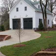 Traditional Garage And Shed by Andrew Roby General Contractors