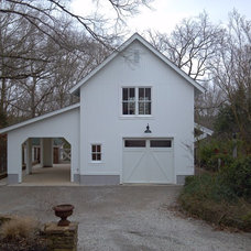 Traditional Garage And Shed by Professional Construction Solutions LLC