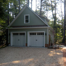 Traditional Garage And Shed by Miller Restoration & Construction, Inc.