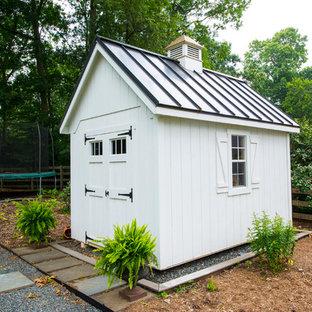 Elegant detached garden shed photo in Baltimore