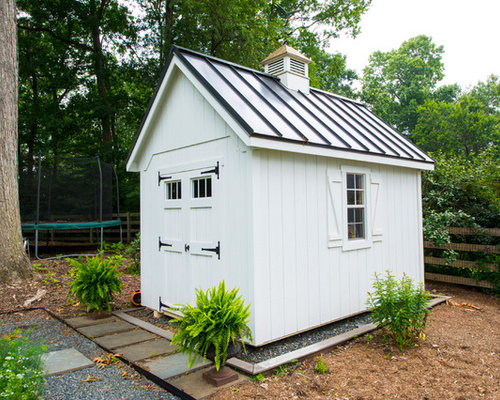 Shed makeover home design ideas renovations photos for Traditional garden buildings