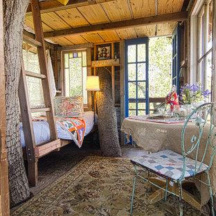 Inredning av ett rustikt gästhus
