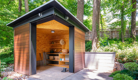 10 Well-Organized Garden Sheds to Inspire Spring Planting