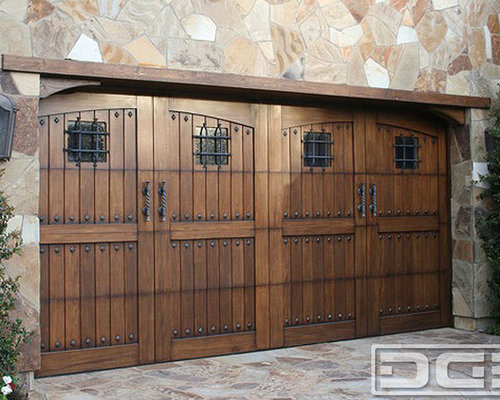 Tuscan Garage Doors Design Ideas & Remodel Pictures | Houzz