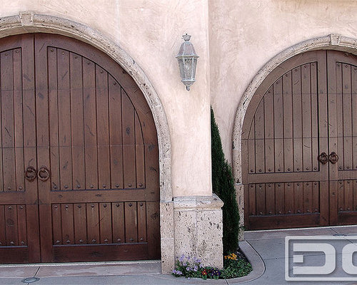 Tuscan Garage Doors Home Design Ideas Pictures Remodel