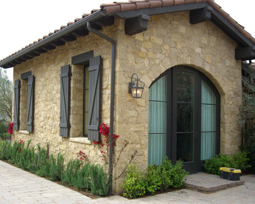 Tuscan shutters home design ideas pictures remodel and decor for Tuscan home plans with casitas