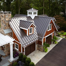 Traditional Garage And Shed by TR Building & Remodeling Inc.