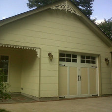Traditional Garage And Shed by Jim Cuccias And Sons General Contractors