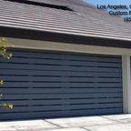 Contemporary Modern Style Garage Doors In Los Angeles Ca