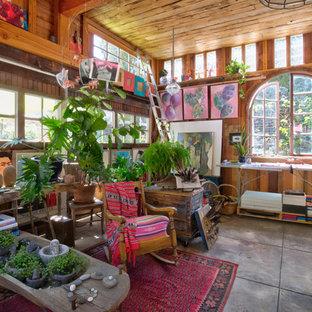 Stilmix Gartenhaus als Arbeitsplatz, Studio oder Werkraum in Los Angeles