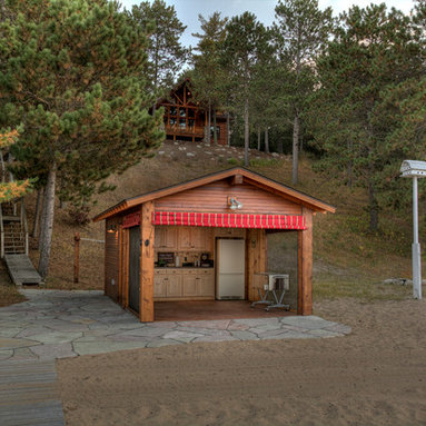 Outdoor Kitchens Garage And Shed Design Ideas Pictures