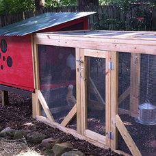 Farmhouse Garage And Shed Urban Coop Tour Atlanta