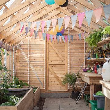 urban green house for public housing